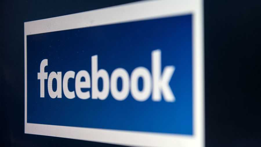 The Facebook logo is shown in this file image.