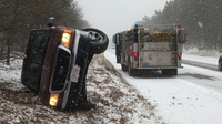 Rollovers on Route 28 in Falmouth