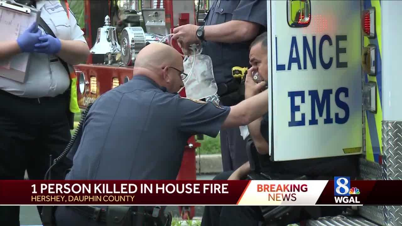 One person killed in Hershey house fire this morning