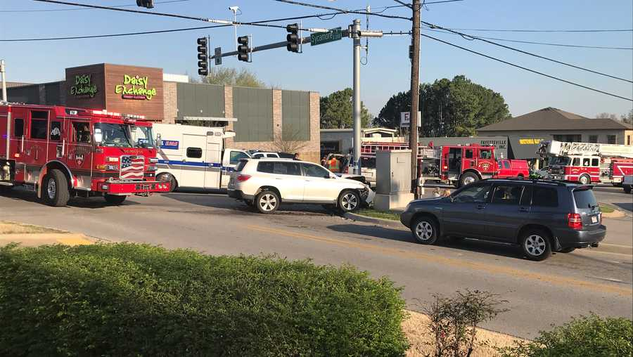 Accident in Fayetteville tied up morning traffic
