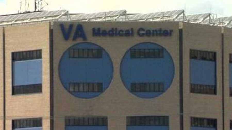 FILE photo of the VA Medical Center in Little Rock