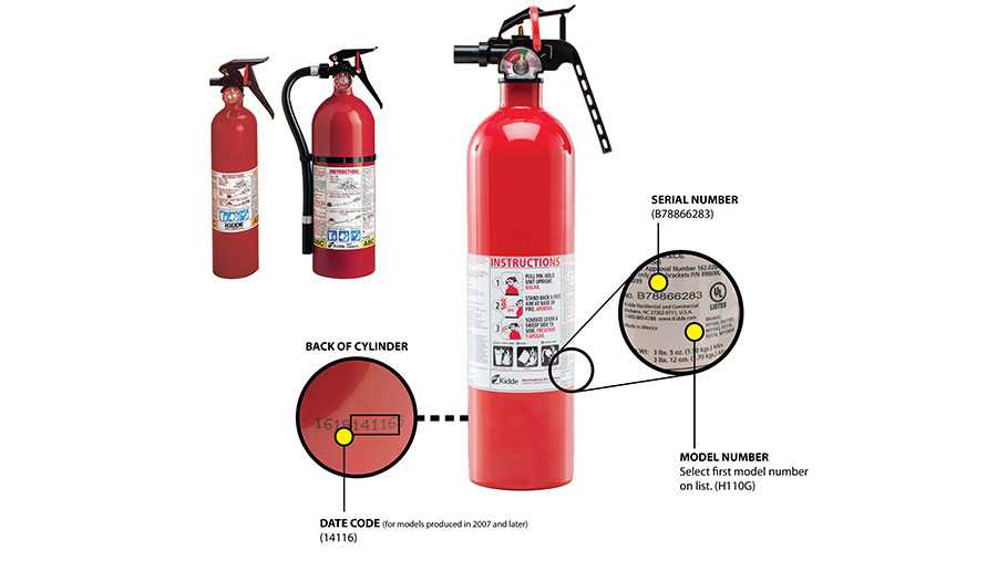 Kidde plastic-handle fire extinguishers
