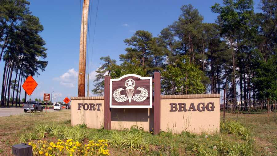 Fort Bragg Entrance