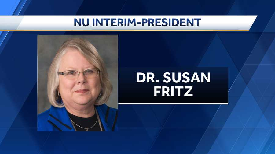 Fritz named interim NU President
