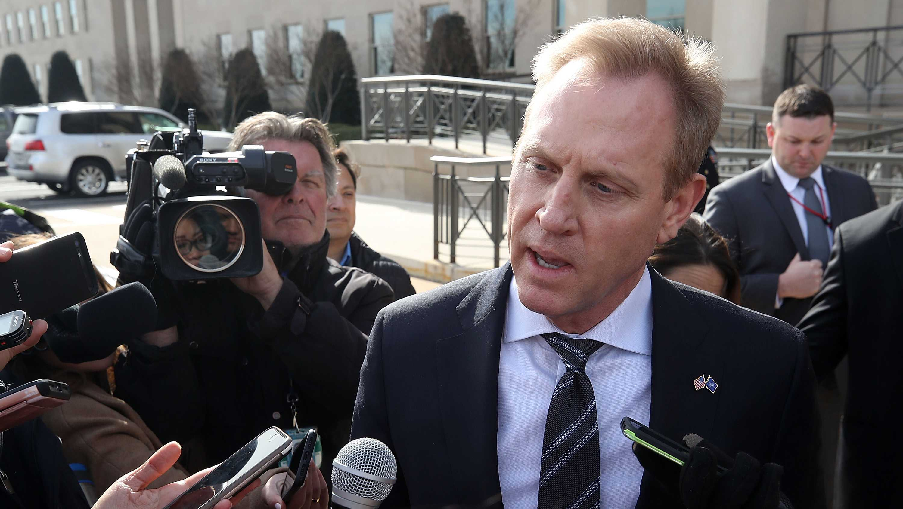 File. Acting Defense Secretary Patrick Shanahan.