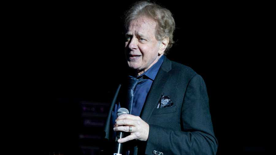Eddie Money performs at DTE Energy Music Theater on May 25, 2019 in Clarkston, Michigan.