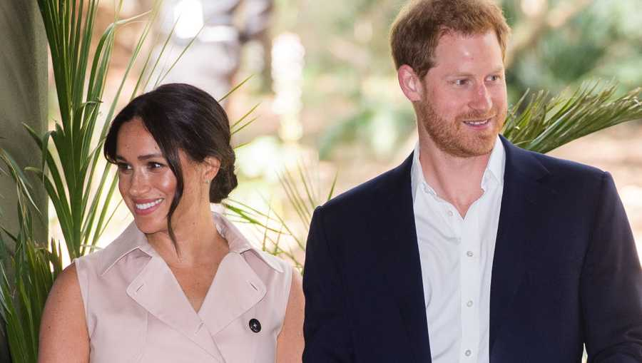 Prince Harry, Duke of Sussex and Meghan, Duchess of Sussex.