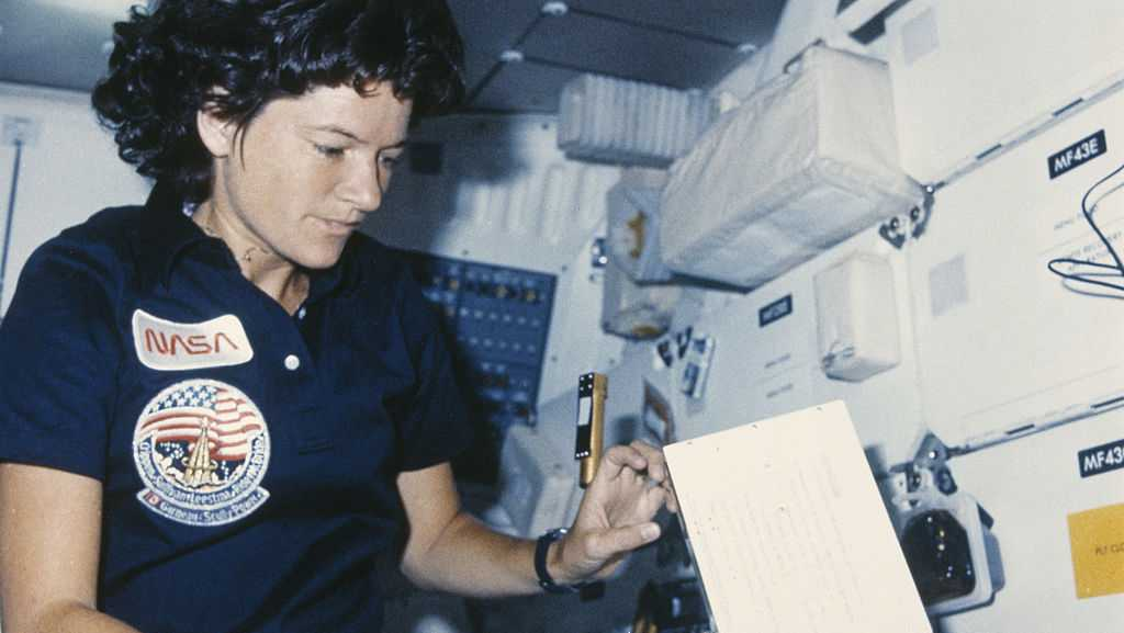 Today in History for June 18: Sally Ride becomes America's first woman in space