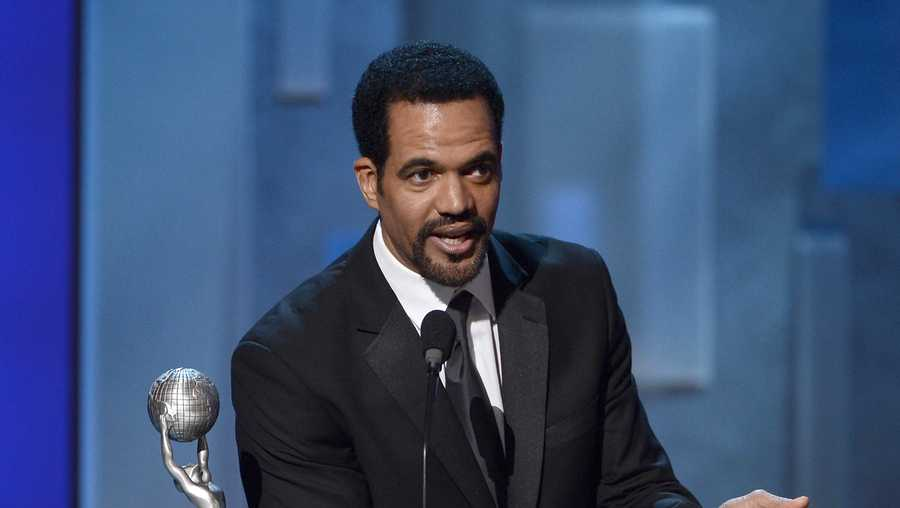 Actor Kristoff St. John onstage during the 44th NAACP Image Awards at The Shrine Auditorium on February 1, 2013 in Los Angeles, California. (