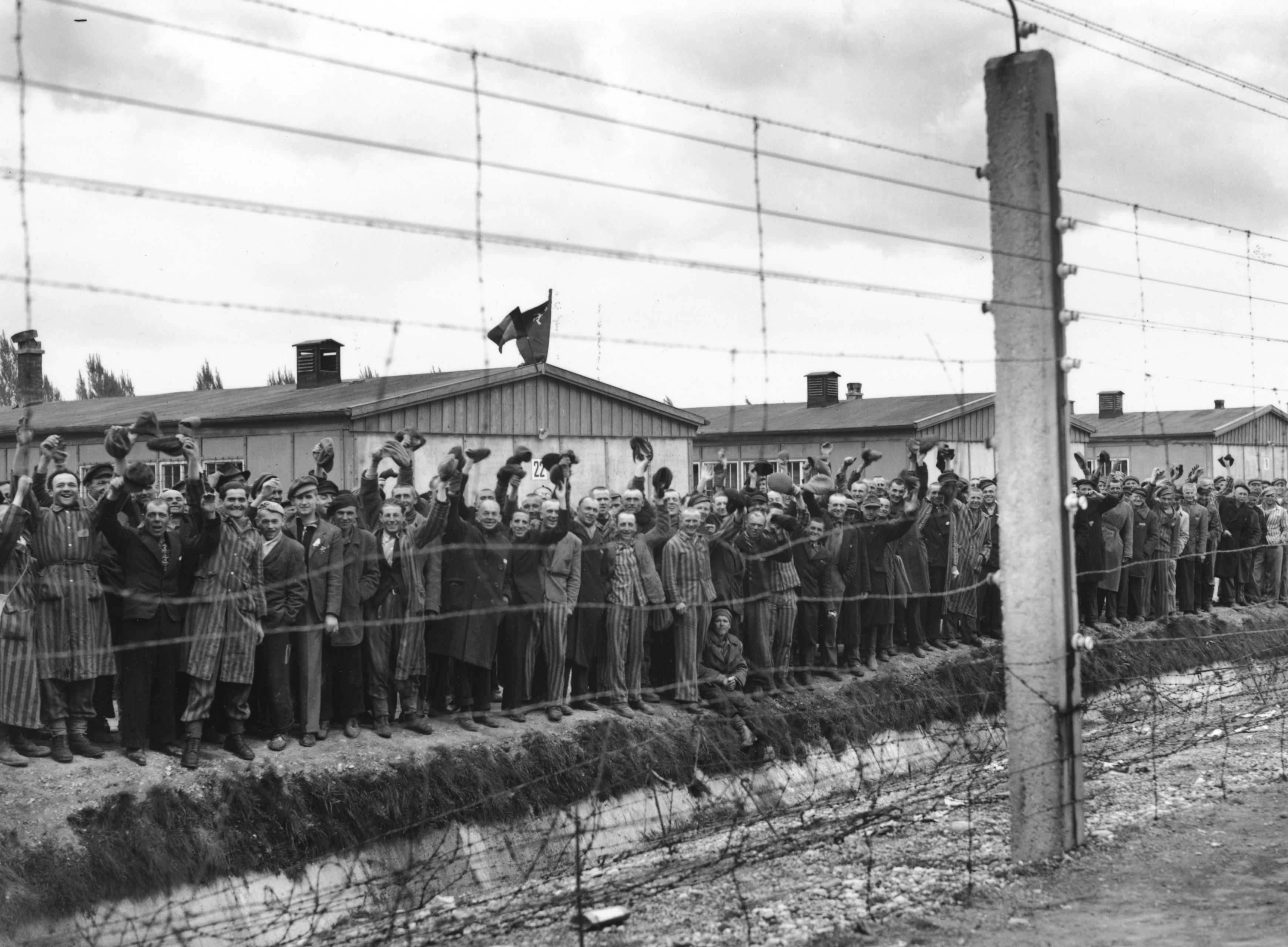 Today in History April 29: Dachau concentration camp liberated with help of US soldiers thumbnail