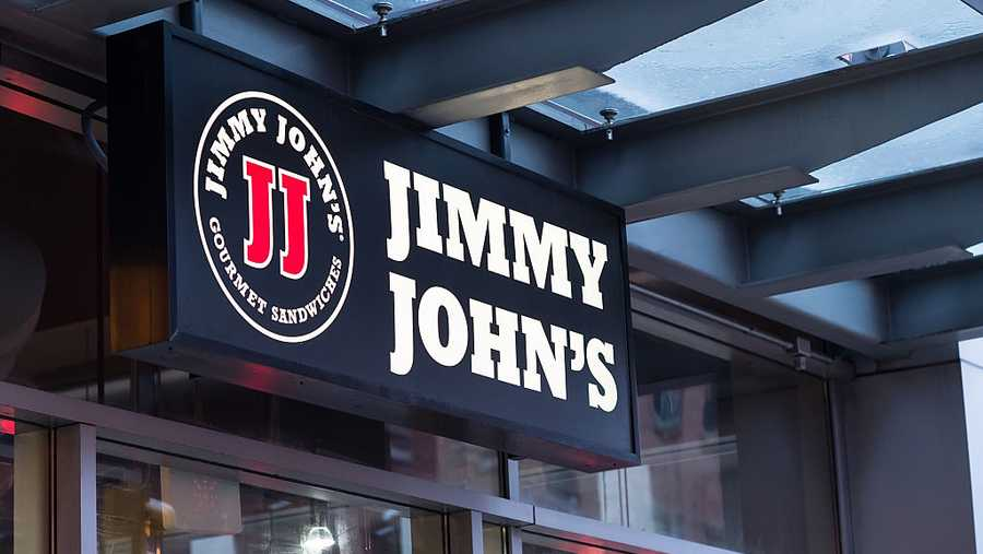 Jimmy John's store sign