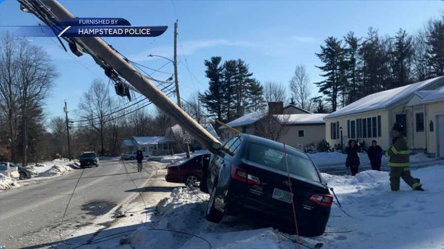 Plaistow man flown to Boston hospital after crash in Hampstead