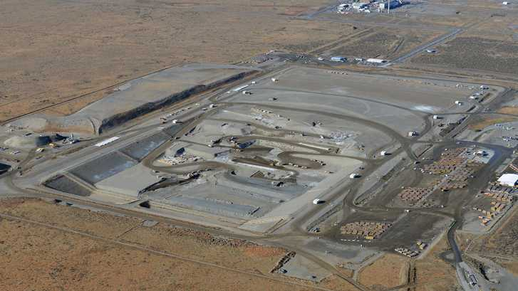 Hanford nuclear waste disposal site