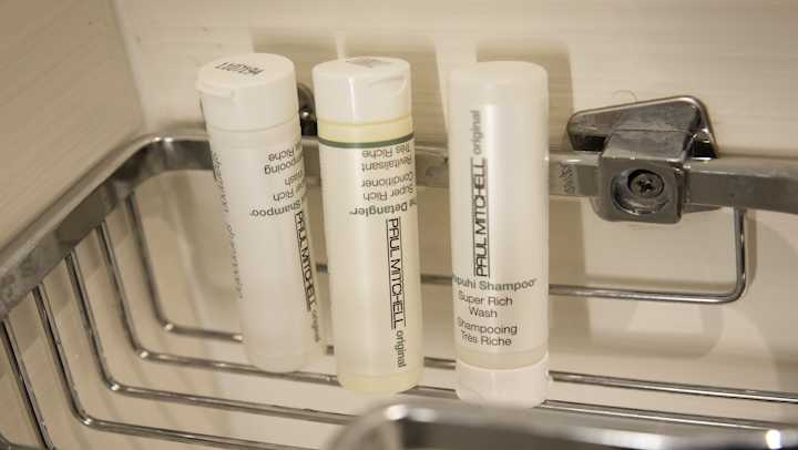 Hotels in the nation's most populous state will have to stop giving guests small plastic shampoo bottles under a new law set to take effect starting in 2023.