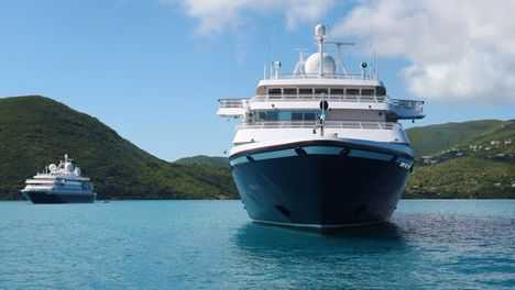 SeaDream 1 is the first cruise vessel to resume sailing in the Caribbean since the start of the pandemic.