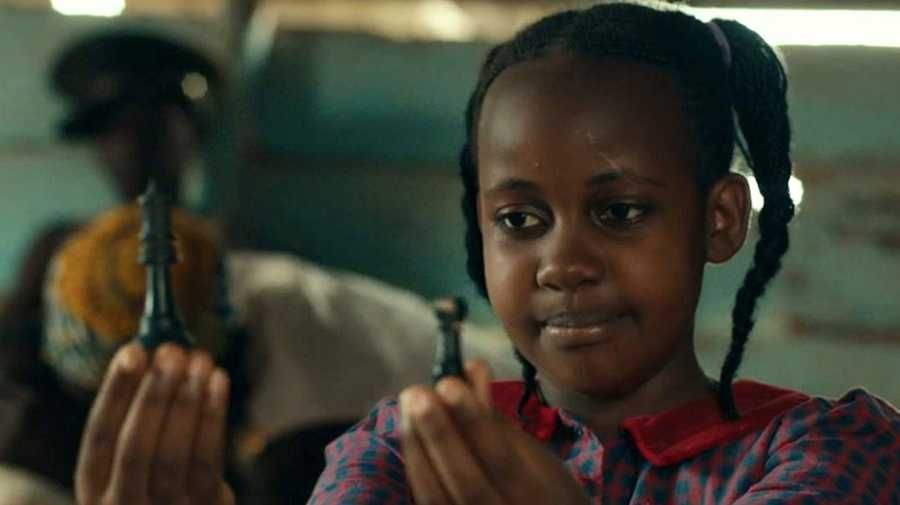 Nikita Waligwa in 'Queen of Katwe'