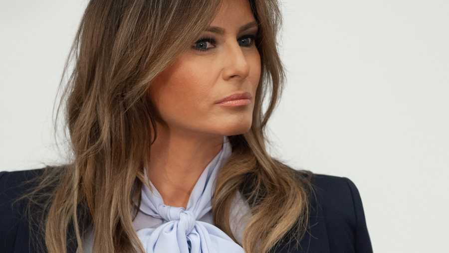 Melania Trump is canceling her first campaign appearance in months because she is not feeling well as she continues to recover from COVID-19.