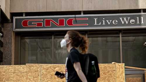 GNC files for bankruptcy and will close up to 1,200 stores.