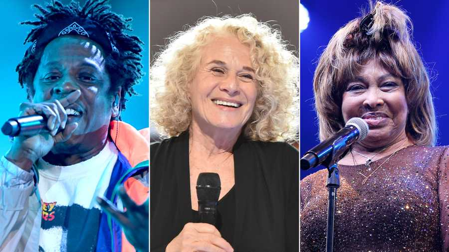The 2021 Rock & Roll Hall of Fame nominees include Jay-Z, Carole King, and Tina Turner.