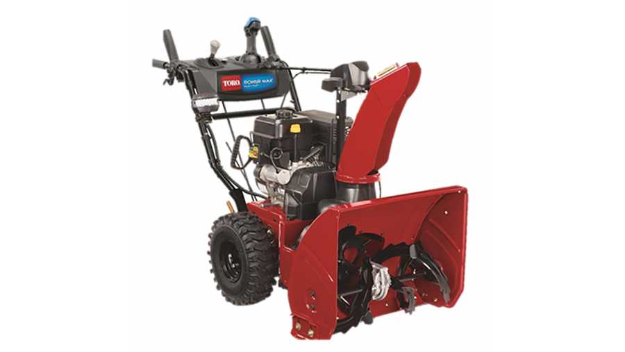 This snowblower, the Toro Power Max 826 OHAE Snowthrower, Model 37802, has been recalled due to an amputation hazard.