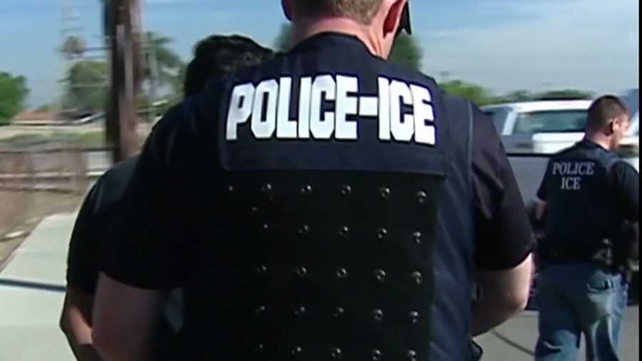 ICE, immigration agent