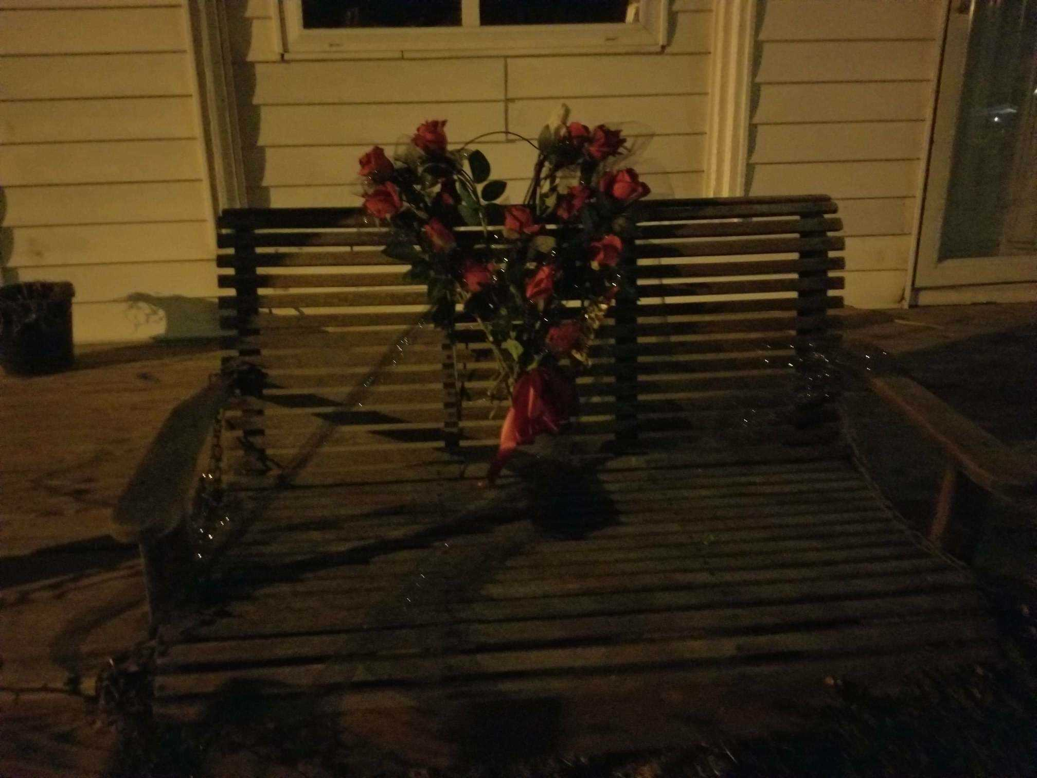 Stolen porch swing and memorial for grandmother returned to family