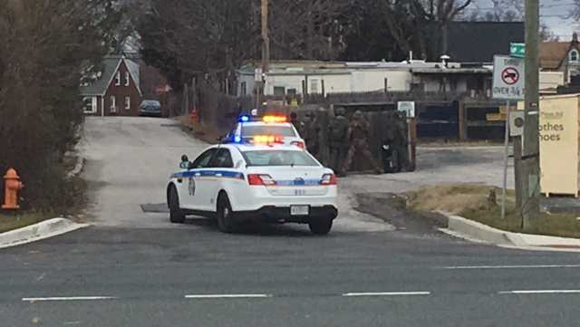 police respond to Rosedale barricade