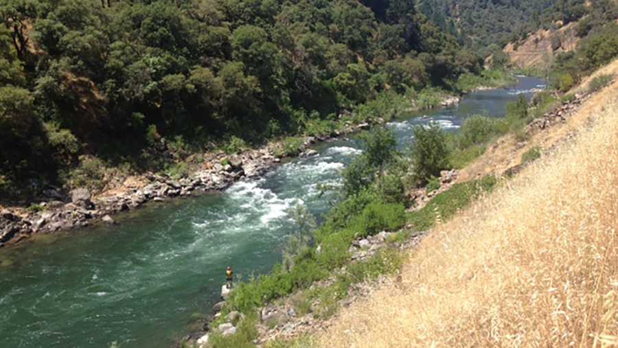 Authorities are working to recover a swimmer's body from the American River confluence, the Placer County Sheriff's Office said.