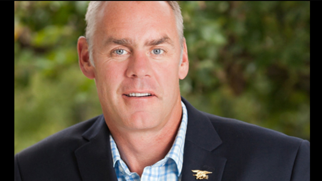 Ryan Zinke is the current U.S. Secretary of the Interior for the Trump administration.