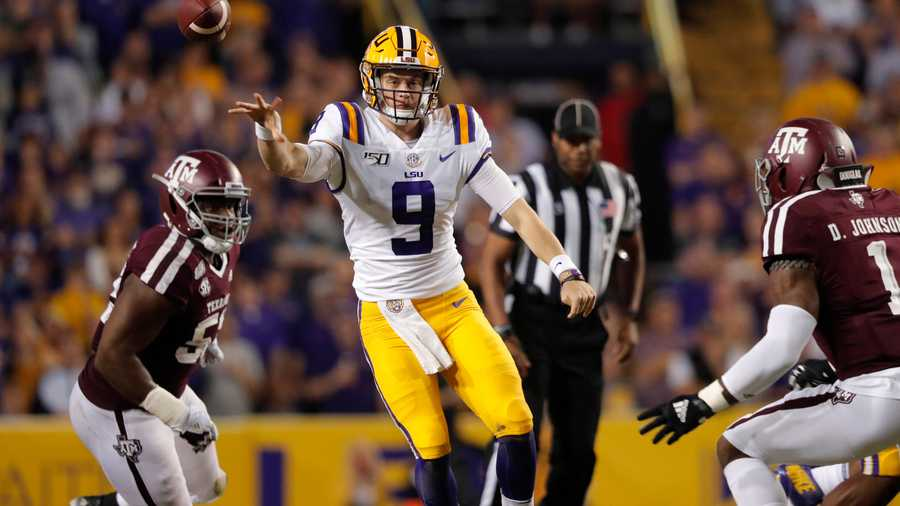 LSU set school record with 5 first round draft picks
