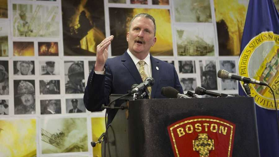 Boston Fire Commissioner Joe Finn