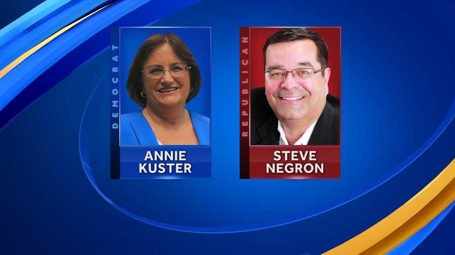 Annie Kuster and Steve Negron