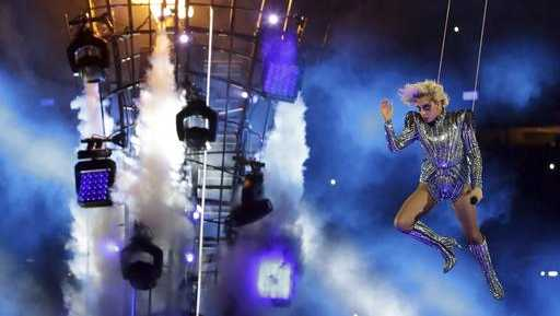 Did Lady Gaga Jump From The Roof During The Super Bowl