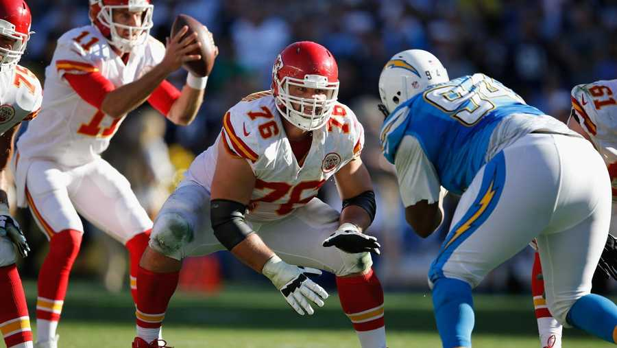 Laurent Duvernay-Tardif was playing in the biggest game of his life less than three months ago, bringing home the Kansas City Chiefs' first Super Bowl victory in 50 year
