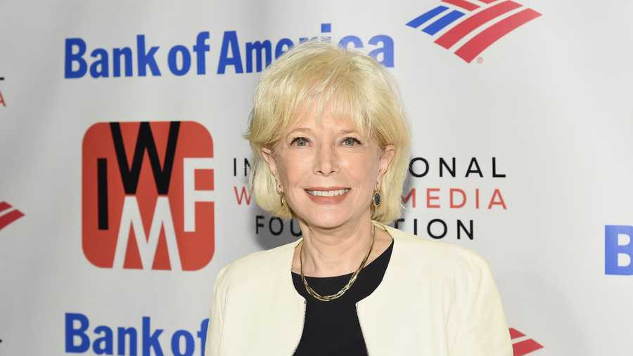 Journalist Lesley Stahl attends the International Women's Media Foundation's 2018 Courage in Journalism Awards at Cipriani 42nd Street on October 25, 2018 in New York City.