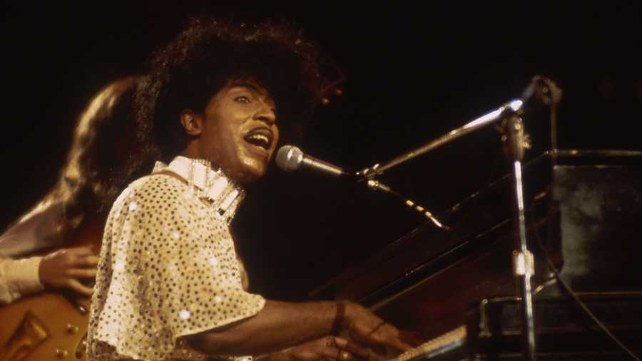 unspecified   circa 1985 little richard in concert circa 1985 photo by jerry wachterimagesgetty images