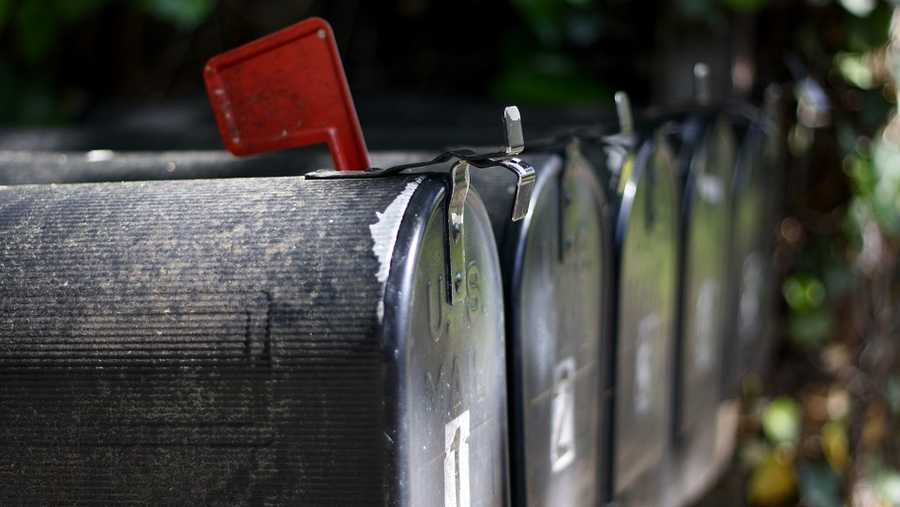 FILE image of mailboxes