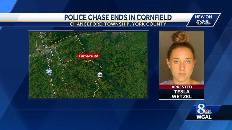 York County Police Chase
