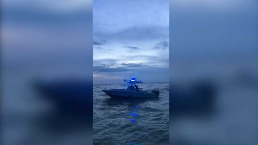 Marine rescue groups searched for Thomas Zakrewski in southwest Florida on Tuesday.