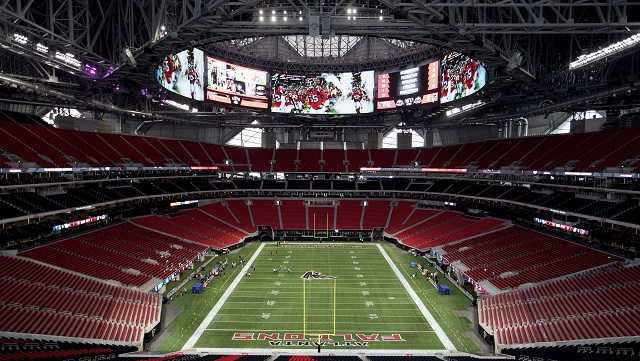 The Mercedes-Benz Stadium, the new home of the Atlanta Falcons football team, will host Super Bowl LIII.