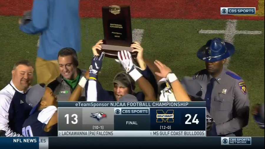 MGCCC Bulldogs win NJCAA national football title