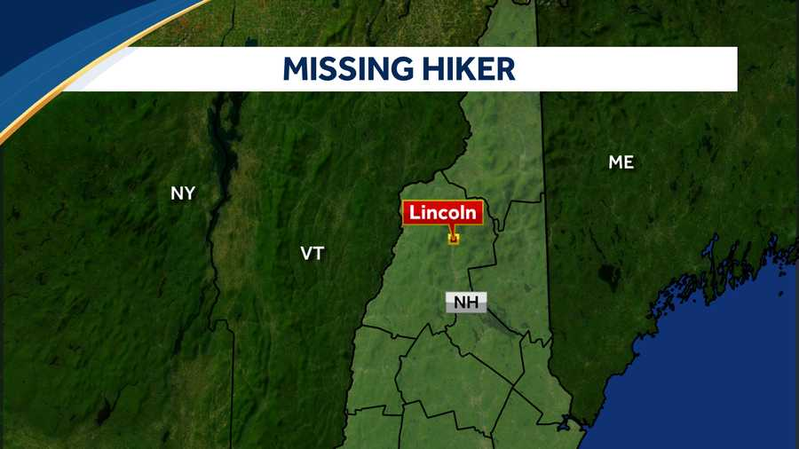 Missing Hiker Lincoln NH