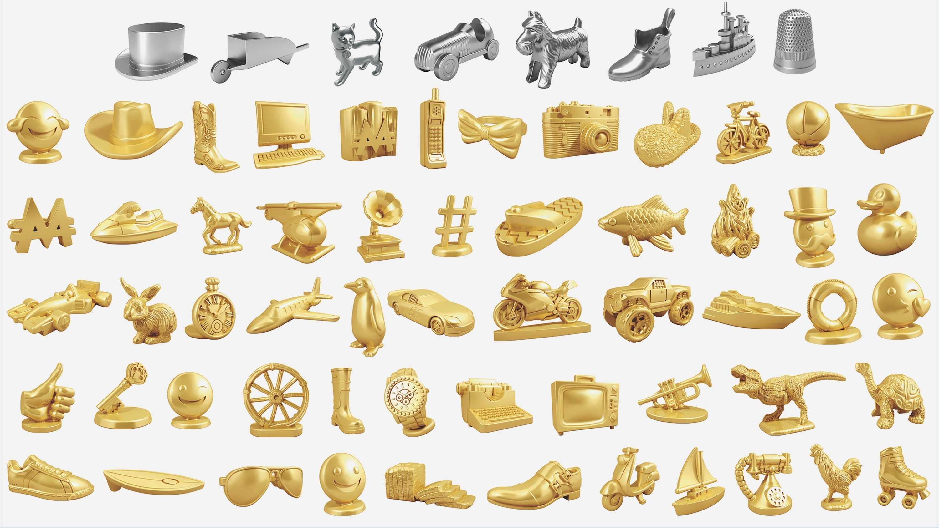 Monopoly's game pieces may look very different the next time you play.