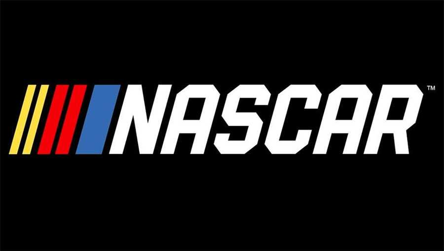The NASCAR logo is shown.