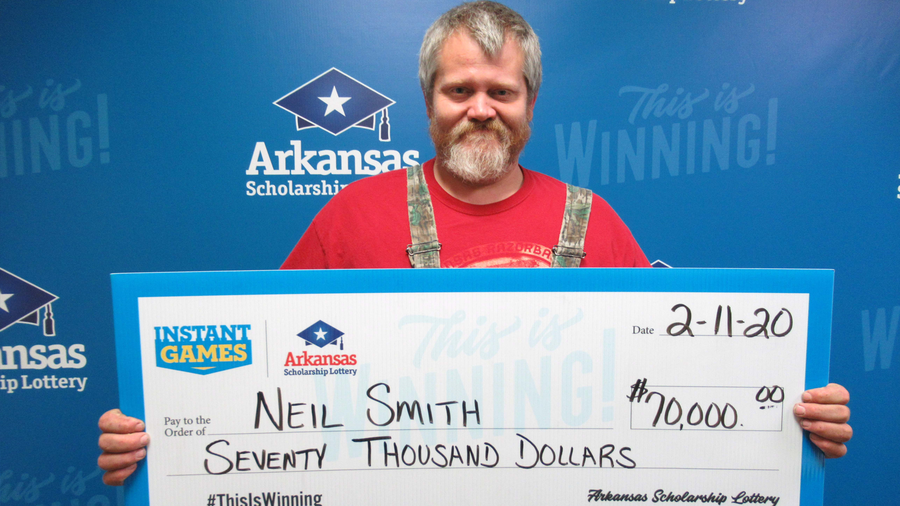 Neil Smith, Arkansas lottery winner