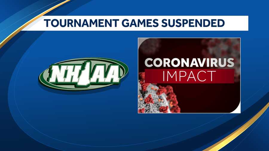 All NHIAA tournament games have been suspended.