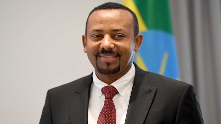 Abiy Ahmed Ali, Prime Minister of the Democratic Federal Republic of Ethiopia