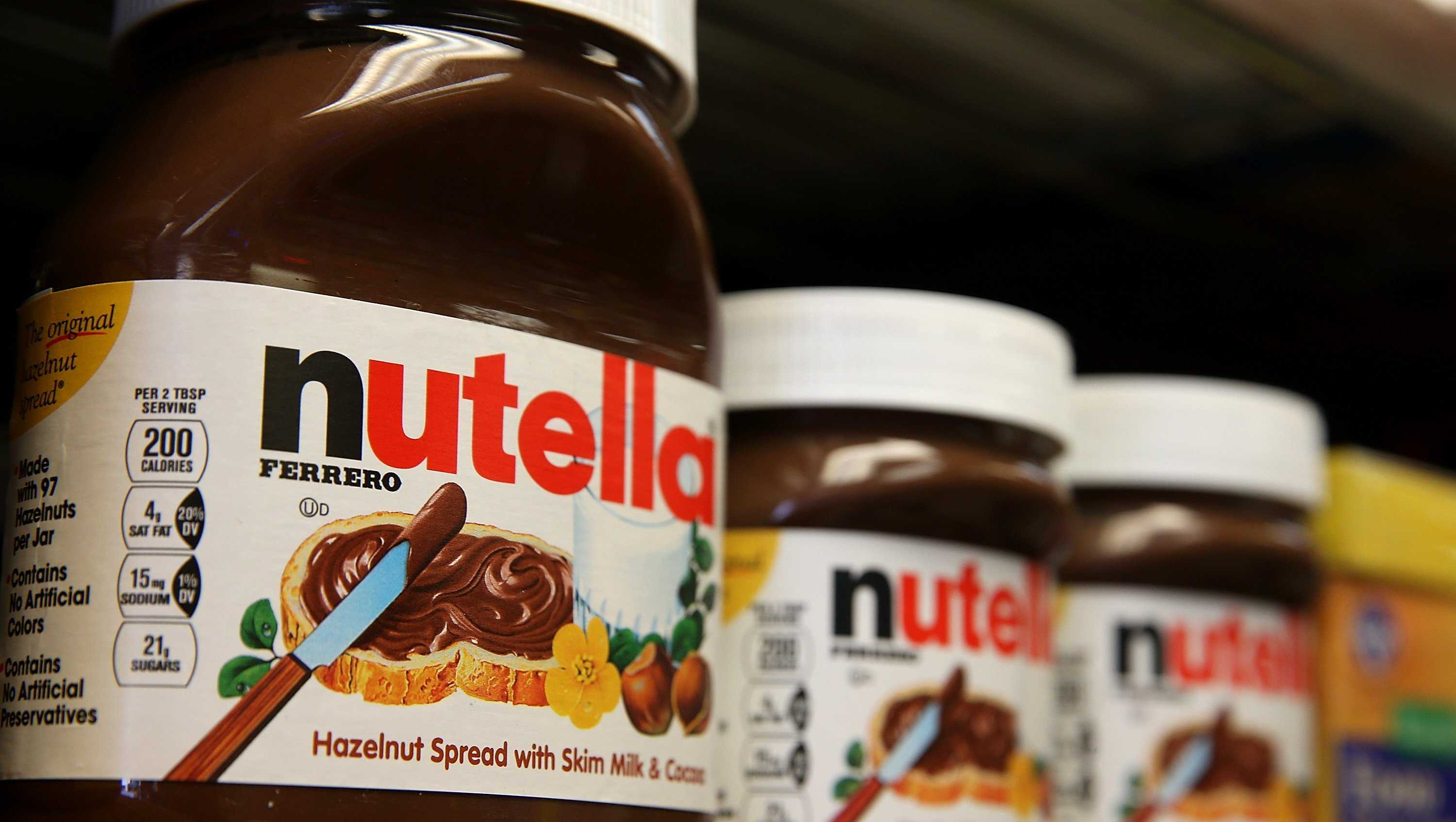 Shoppers caused a riot in a French supermarket when they offered discounted Nutella.