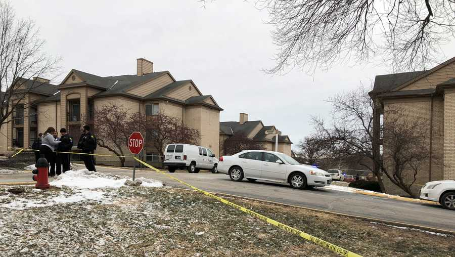 One person was killed in a homicide Monday at an apartment complex off of Oak Leaf Drive.