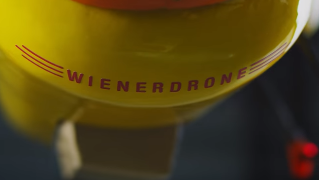 Wienerdrone with Oscar Mayer